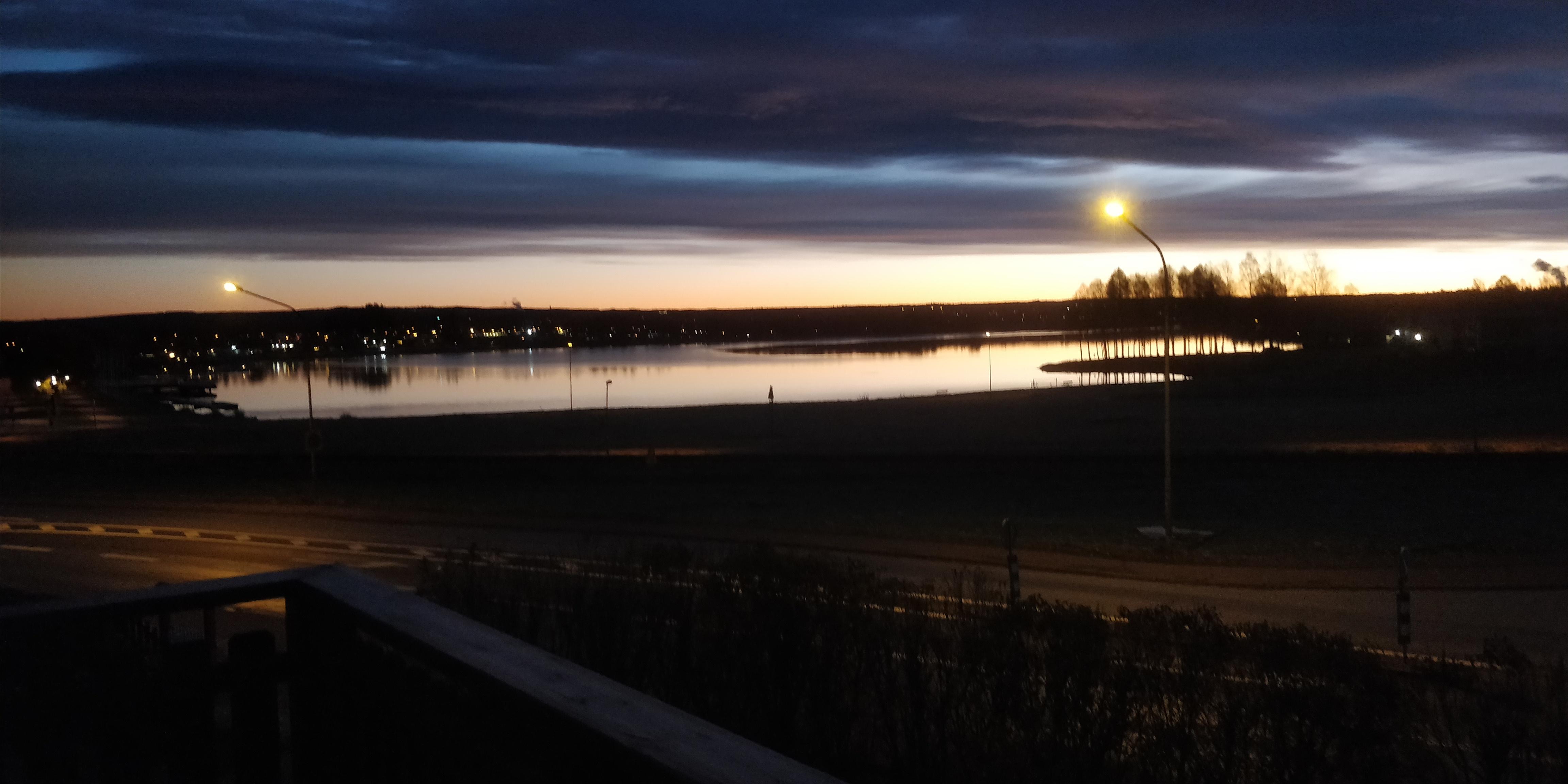 Utsikt över Saxviken i Siljan Mora, boende uthyres Mora inför Vasaloppet